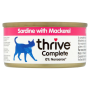 Thrive 天然貓主食罐頭 75g -沙甸魚+鯖魚